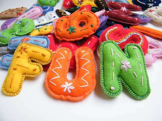 Hand-Embroidered Eco Toys