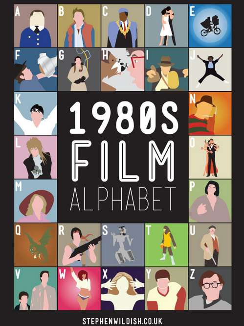 Alphabetical Movie Posters