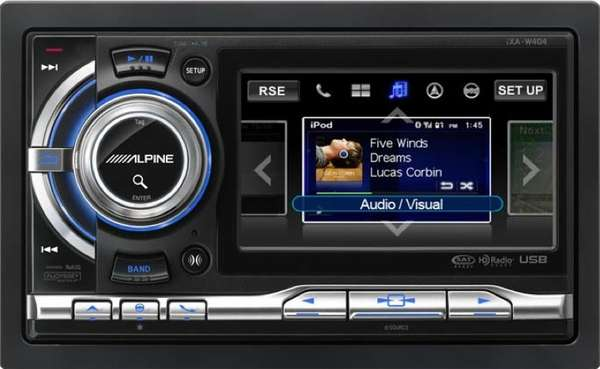 Touchscreen Receivers Alpine Ixa W404 2 Din Is Apple And