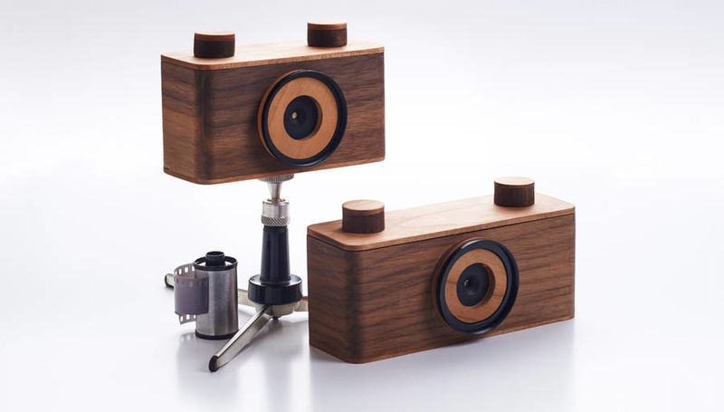 Wooden Pinhole Cameras