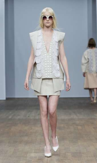 Geometrically-Blocked Garments