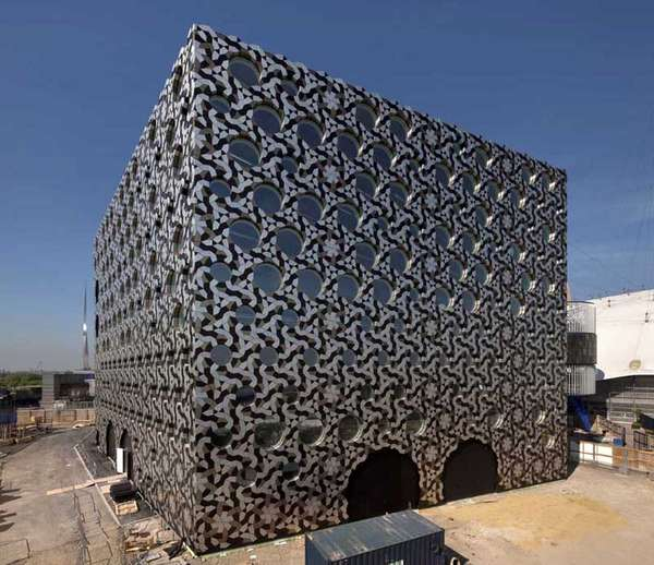 Aluminium Tile-Covered Building