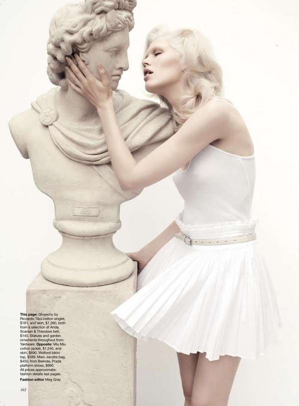 Seductive Statue Shoots