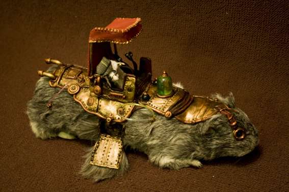 Steampunk Roadkill Art