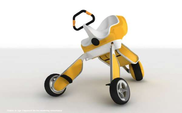 Three-Legged Scooters