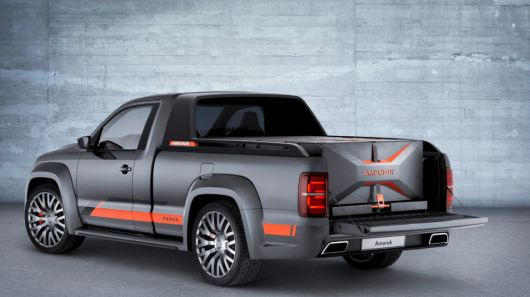 Soundblasting Pickup Trucks