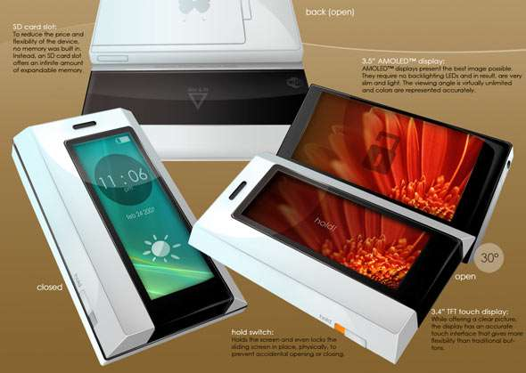 Amazing Concept Phone Designed By A 15 Year Old Kid