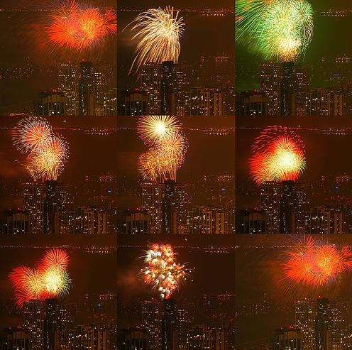 Amazing July 4 Fireworks