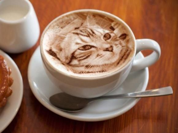 Hyperreal Latte Art