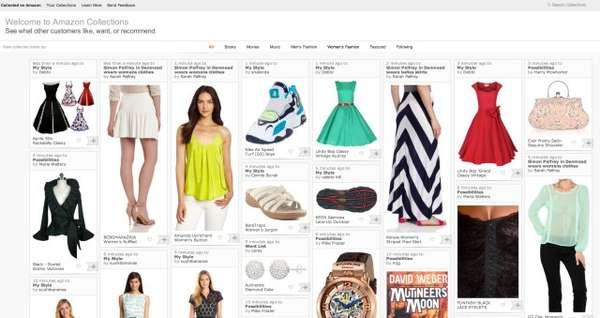 Pinboard Web Shops