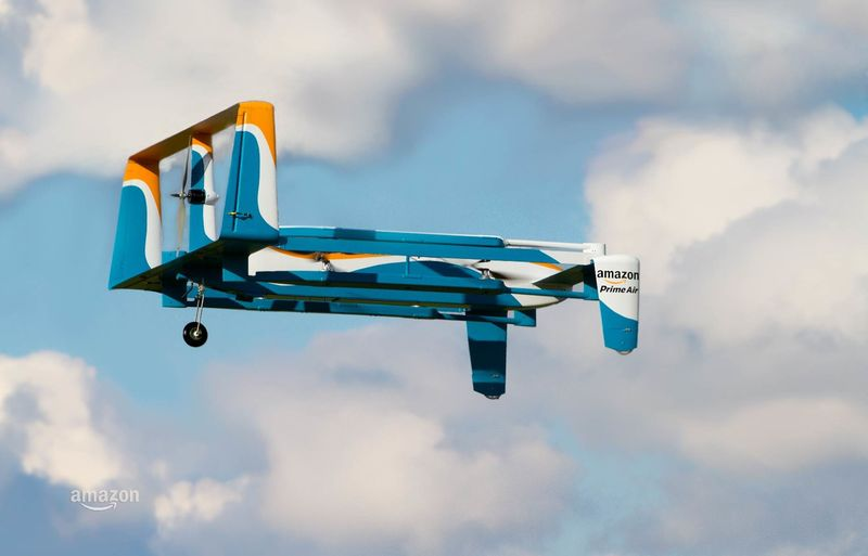 Ecommerce Delivery Drones
