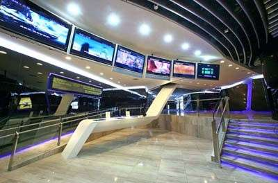 Futuristic Movie Theatre in Hong Kong