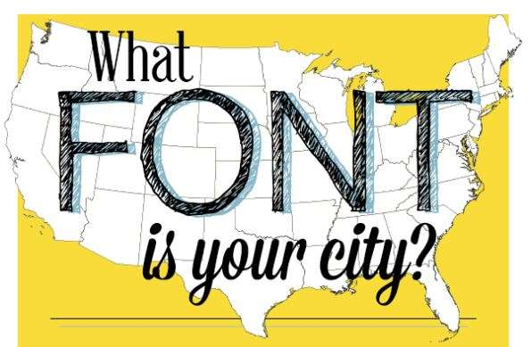 Typographic City Infographics