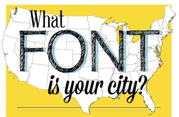 Typographic City Infographics
