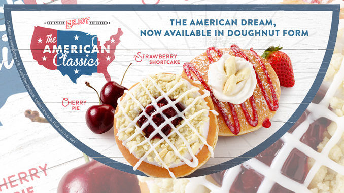 Americana-Themed Donut Flavors