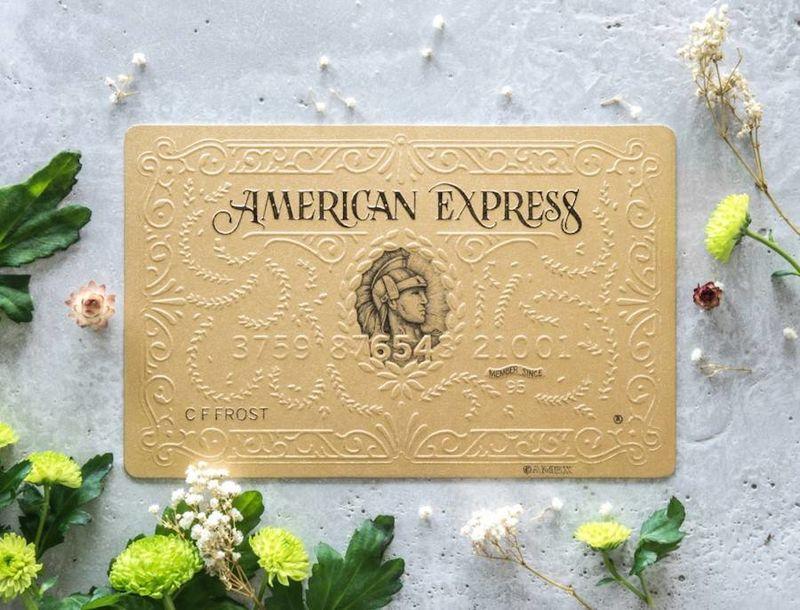 Embossed Handmade Credit Cards