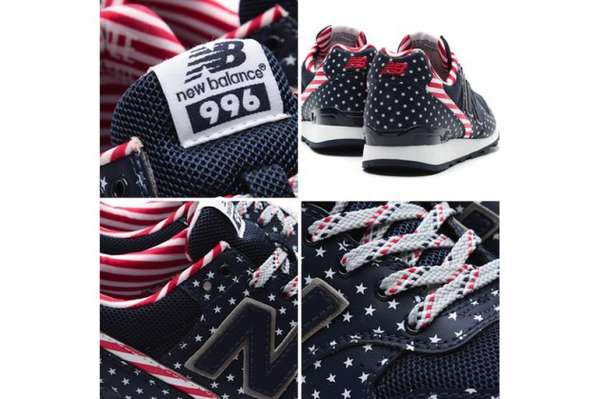 Proud Flag-Patterned Sneakers