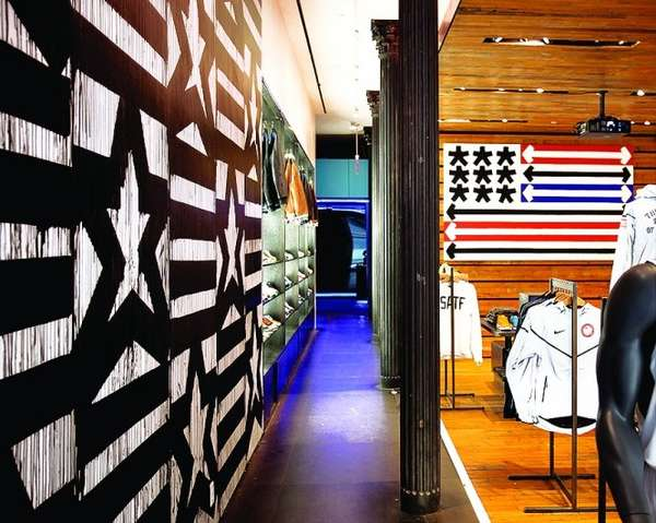 Patriotic Retail Installations