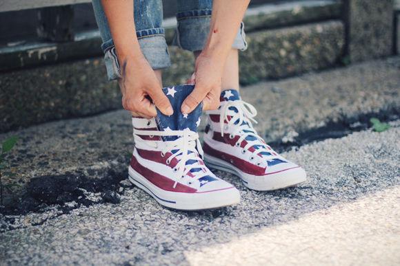 DIY Americana Footwear