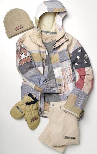 Patchwork Americana Sportswear
