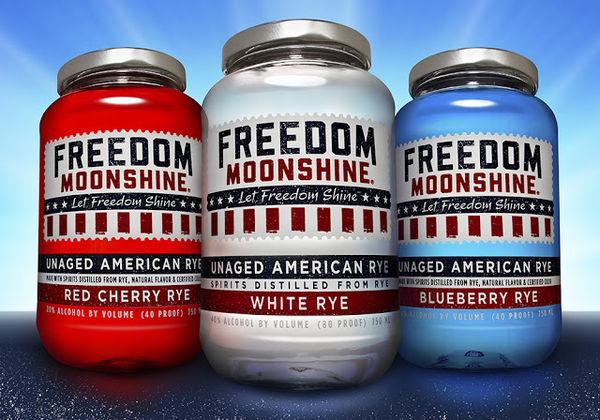 Patriotic American Alcohols