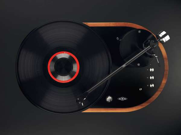 amg veilla 12 handcrafted turntable