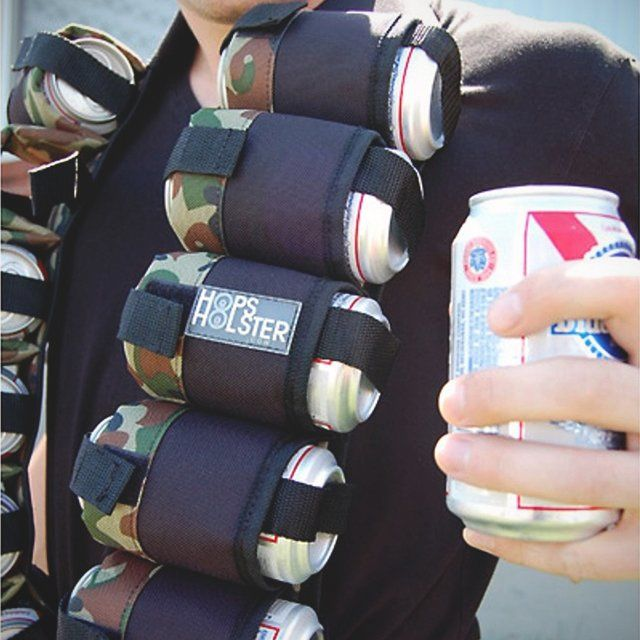 Holstered Beer Ammo Belts
