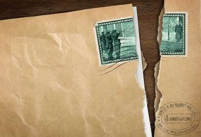 Torn Stamp Ads