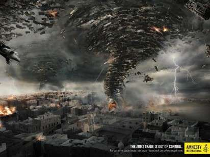 Militarized Natural Disaster Ads