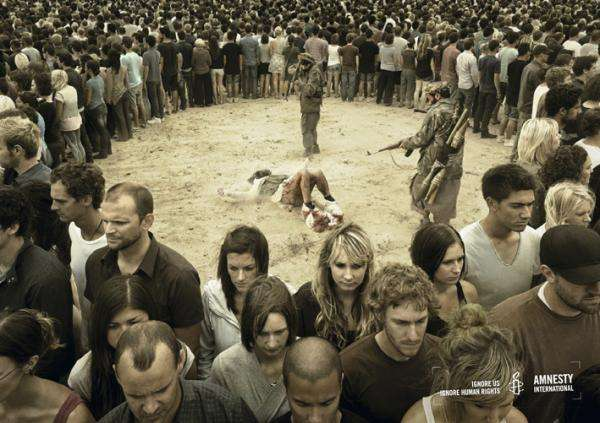 Amnesty International Ignore Us