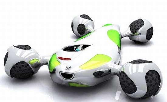 Amoeba-Like Cars