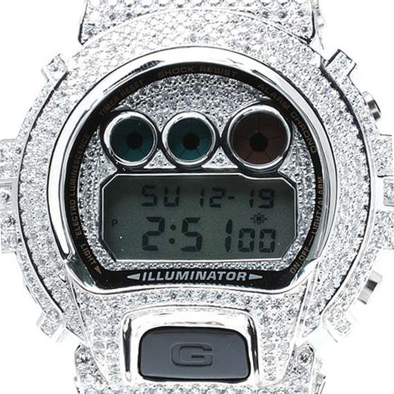 Blinging Heavy-Duty Timepieces