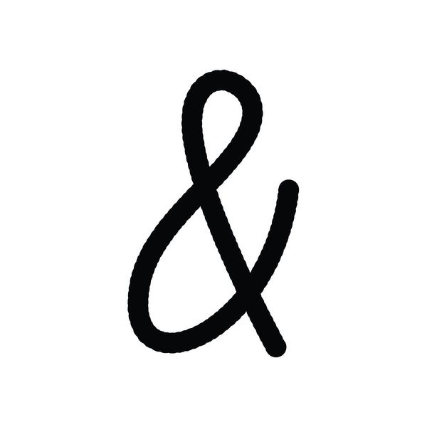 Ampersand for Pinterest