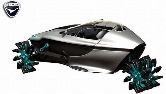 Futuristic Fishmobiles