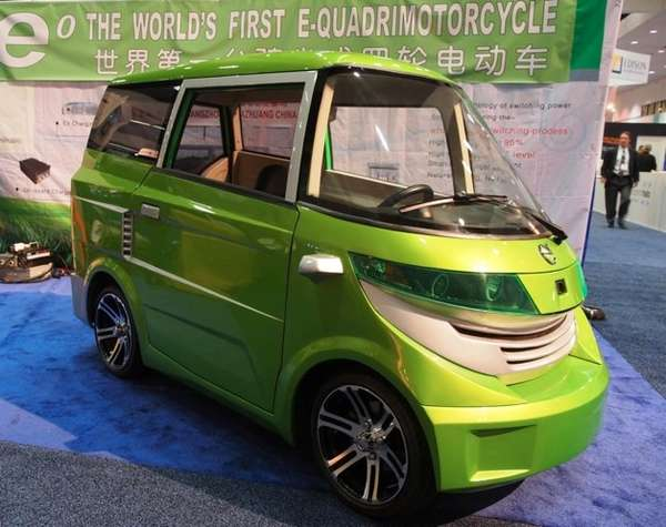 Adorable Electric Mini Autos