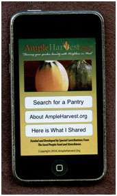 ample harvest iphone app