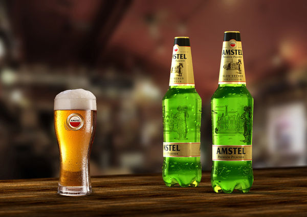 Imitation Glass Beer Bottles