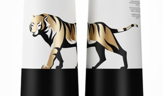 Amur Tiger Vodka Packaging
