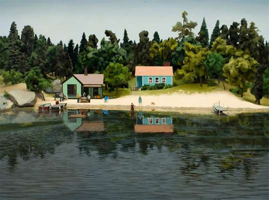 Paintings of Dioramas