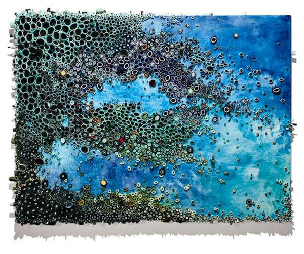 Coral Reef-Inspired Paintings