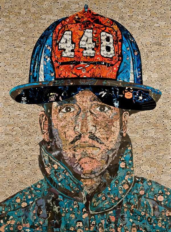 Superhero 911 Collages