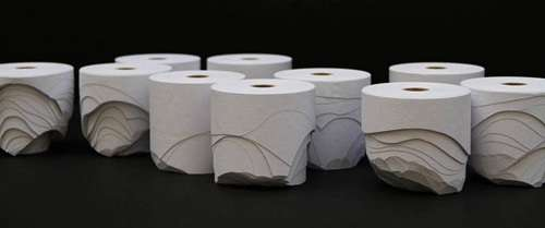 Stratified Sliced Tissue Rolls