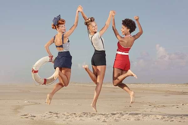 '50s Beachwear Snapshots