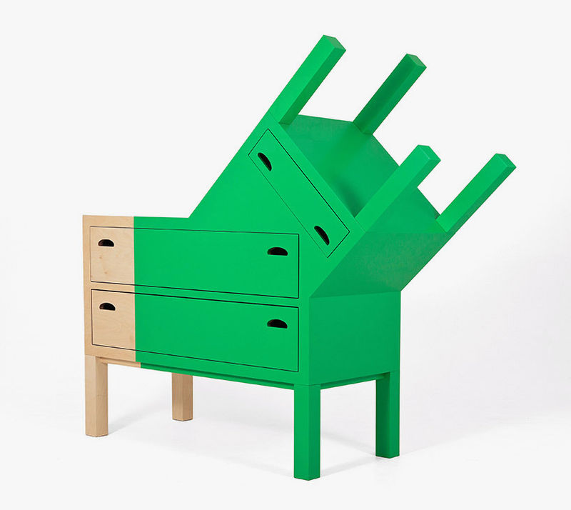 Mask-Inspired Furniture