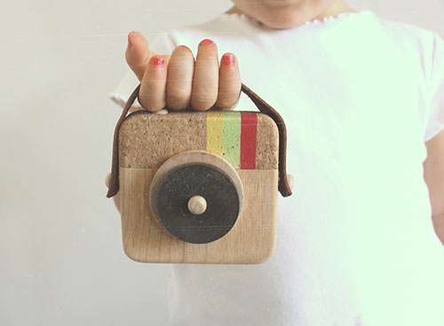 Instagram-Inspired Wooden Toys