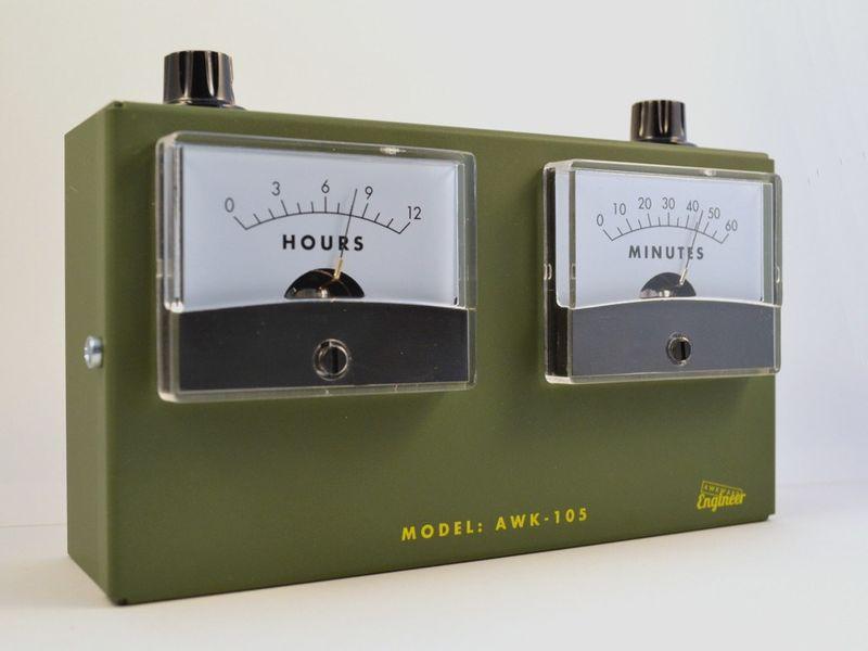 Scientific Instrument Clocks