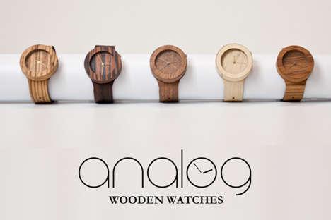 Elegant Lumber Timepieces
