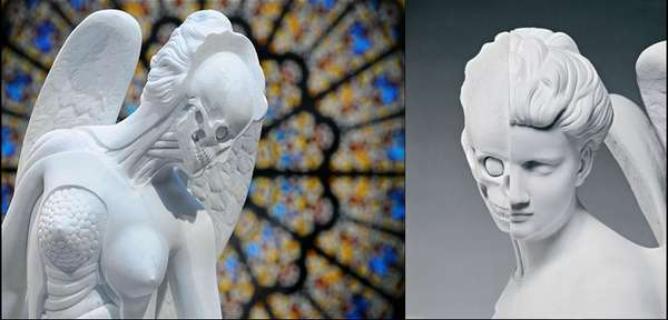 Skin-Peeled Sculptures