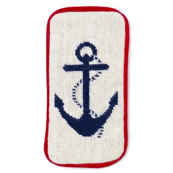Anchor Sunglass Case