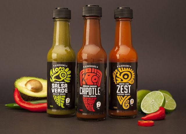 Mayan Sauce Packaging